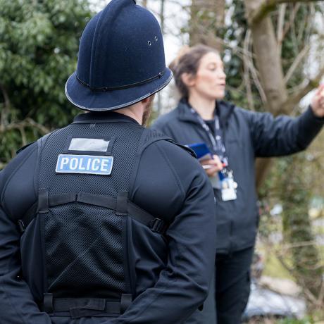Neighbourhood police officer