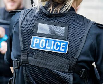 Back of officer