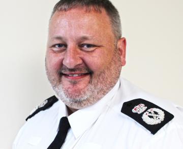 Garry Forsyth in uniform